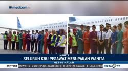 Kartini Flight Bersama Menteri Susi