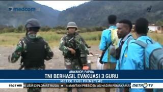 TNI Berhasil Evakuasi Tiga Guru Korban Penyanderaan