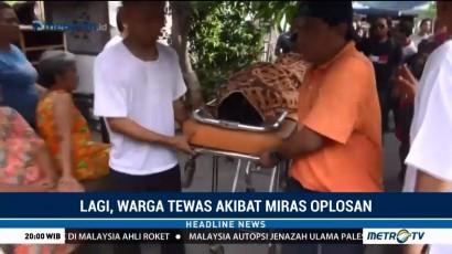 Tiga Orang Tewas Akibat Miras Oplosan di Surabaya