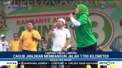 Ribuan Warga Hadiri Kampanye Akbar Arinal-Nunik