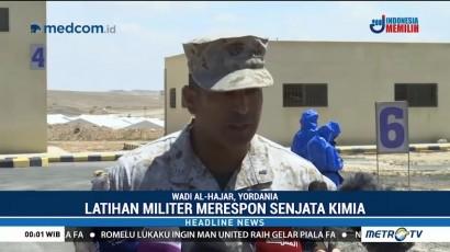 Militer AS dan Yordania Latihan Bersama Tanggulangi Senjata Kimia