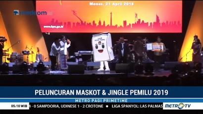 KPU Rilis Maskot dan Jingle Resmi Pemilu 2019