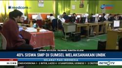 Baru 40% SMP di Sumsel yang Bisa Laksanakan UNBK
