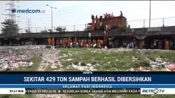 429 Ton Sampah Berhasilkan Dibersihkan dari Kolong Tol Tanjung Priok
