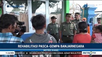 TNI-Polri Siaga Bantu Pengungsi Gempa Banjarnegara