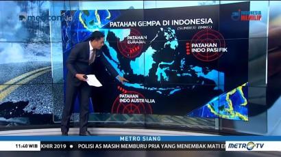Kenali Patahan Gempa di Indonesia