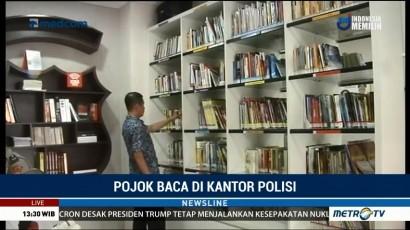 Pojok Baca di Kantor Polisi