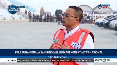 Pelabuhan Kuala Tanjung Melengkapi Konektivitas Nasional (2)