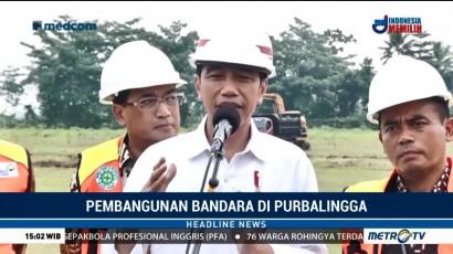 Jokowi Yakin Bandara JB Soedirman Mampu Genjot Perekonomian
