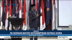 Ridwan Kamil Beri Materi Kepemimpinan kepada Siswa ABN NasDem