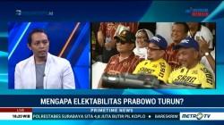 Penurunan Elektabilitas Prabowo Dinilai Wajar