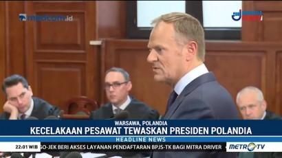 Presiden Uni Eropa Bersaksi di Sidang Kasus Kecelakaan Pesawat