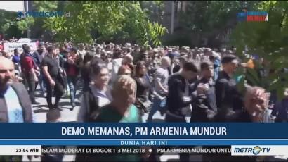 Demo Memanas, Perdana Menteri Armenia Mundur