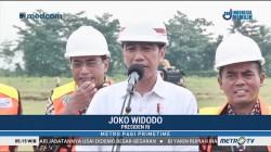 Jokowi Letakan Batu Pertama Bandara Jenderal Besar Soedirman