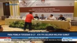 KPUD Tetapkan 9 Juta Pemilih Tetap di Pilgub Sumut 2018
