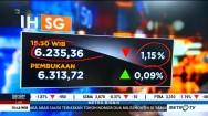 IHSG Turun Tajam Jelang Penutupan Perdagangan