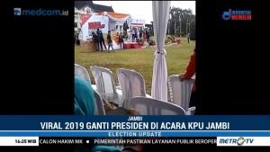 Ada Teriakan 2019 Ganti Presiden di Acara KPU Jambi