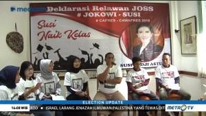 Relawan Dorong Jokowi Gaet Susi Jadi Cawapres