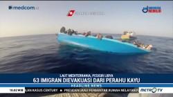 Aksi Penyelamatan Imigran di Laut Mediterrania