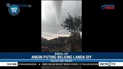 34 Rumah Rusak Akibat Angin Puting Beliung di Yogyakarta