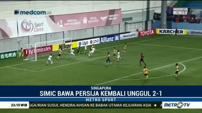 Kalahkan Tampines, Persija Juara Grup H