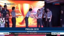 PGN Popsivo Polwan dan Bhayangkara Samator Raih Penghargaan dari Kapolri