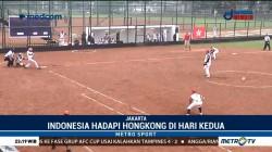 Timnas Softball Indonesia Kalahkan Hong Kong