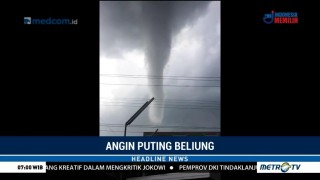 Sejumlah Bangunan di Yogyakarta Rusak Akibat Angin Puting Beliung