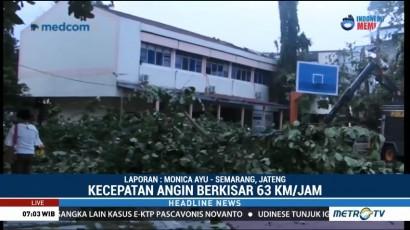 Puting Beliung Terjang Yogyakarta, Dua Bangunan Kampus Rusak