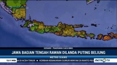 BMKG: Pulau Jawa Waspada Puting Beliung