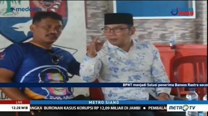 Ridwan Kamil Kunjungi Nelayan di Indramayu