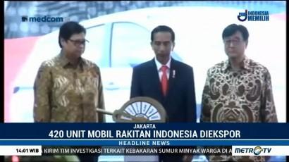 Jokowi Lepas Ekspor Perdana 420 Unit Mitsubishi Xpander