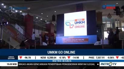 Gerakan UMKM Go <i> Online </i>