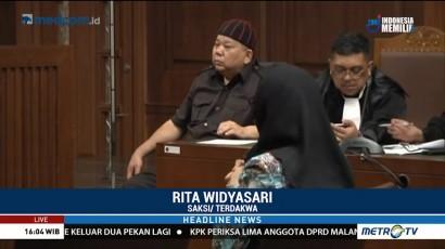 Bupati Rita Bantah Terima Suap dari Dirut PT Sawit Golden