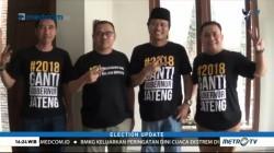 Pendukung Sudirman-Ida Gunakan Kaos #2018GantiGubernurJateng