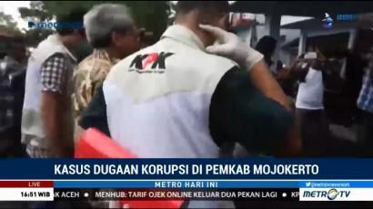 KPK Geledah Empat Kantor Dinas Pemkab Mojokerto