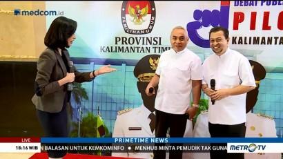 Persiapan Jelang Debat Kandidat Gubernur Kaltim (2)