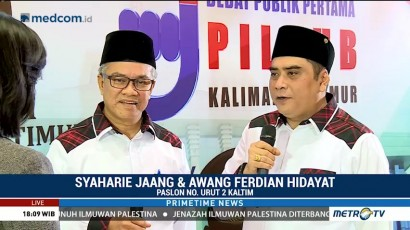 Persiapan Jelang Debat Kandidat Gubernur Kaltim (1)
