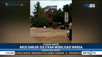 Delapan Kecamatan di Cilegon Terendam Banjir