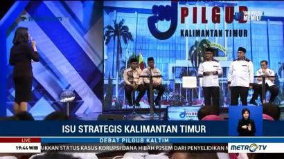 Debat Publik Pilkada Kalimantan Timur (3)