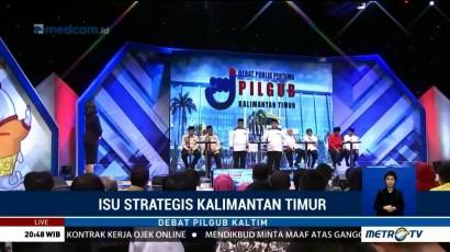 Debat Publik Pilkada Kalimantan Timur (6)