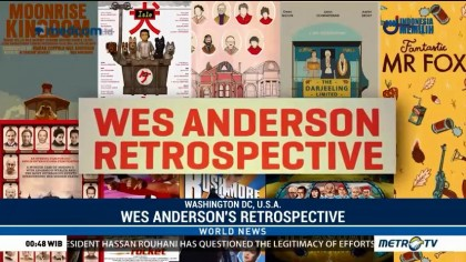 At Wes Anderson Retrospective, an Iconic Auteur's World on