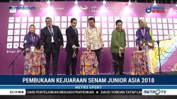 Menpora Buka Kejuaraan Asia Senam Artistik Junior 2018