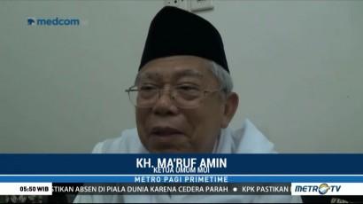 Tanggapi Amien Rais, Ma'ruf Amin: Semua Partai Religius