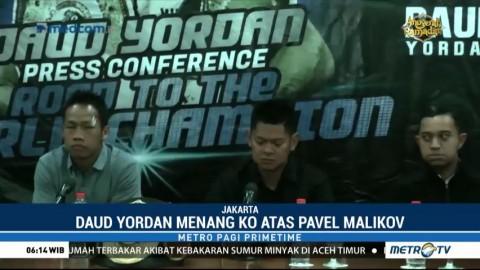 Daud Yordan Siap Rebut Gelar Juara Dunia