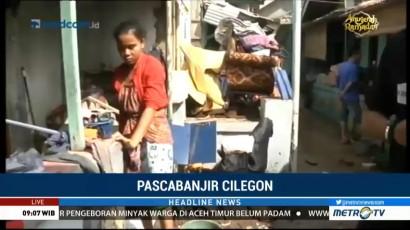 Banjir Bandang di Cilegon Mulai Surut