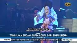 Pagelaran Budaya Simalungun Ditampilkan di Teater Garuda TMII