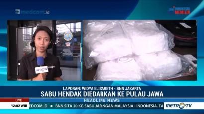 BNN Ungkap Jaringan Pengedar Narkoba Malaysia-Indonesia