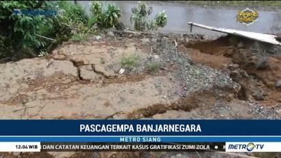 Gempa Susulan Picu Pergerakan Tanah di Banjarnegara