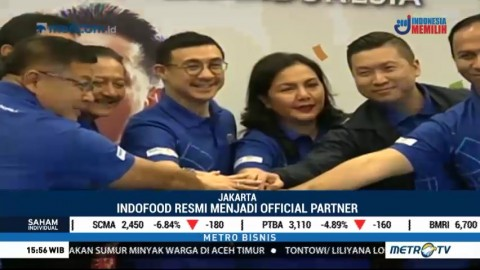 Indofood Resmi Jadi Official Partner Asian Games 2018